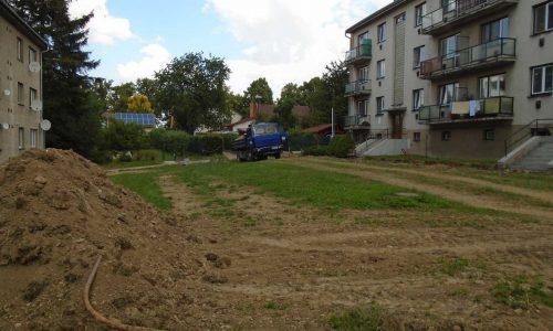 Terénní úpravy, stavební práce