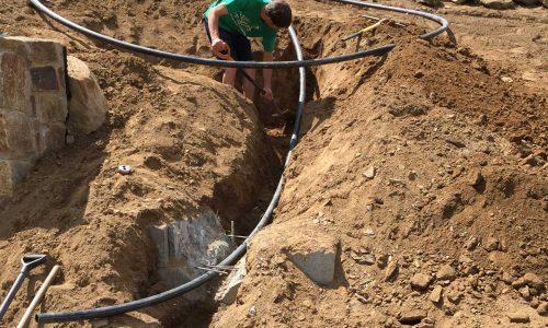 Příprava vodního toku